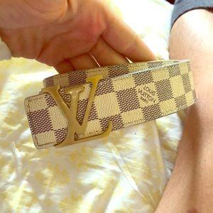 Louis Vuitton belt men's